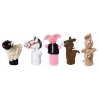 marionnettes doigts enfants animaux