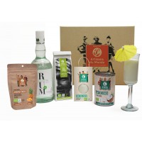 coffret cocktail pina colada equitable