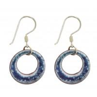 Boucles d'oreilles Anja bleu