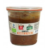 compote pomme bio equitable