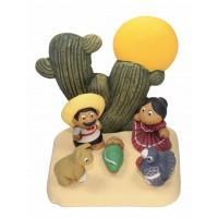 creche noel cactus
