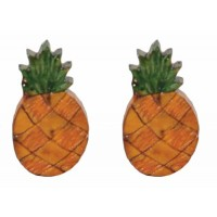 boucles oreilles ananas equitable