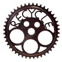 Dessous de plat vélo recyclé