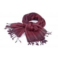 echarpe rouge laine