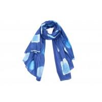 etole coton bleu