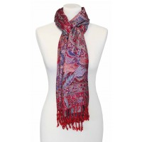 écharpe rouge et bleu equitable