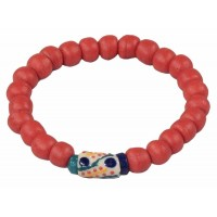 bracelet rouge orange equitable
