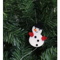 guirlande bonhomme de neige equitable