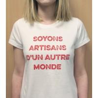 T-shirt ADM femme, S
