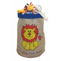 Sac à jouets Lion