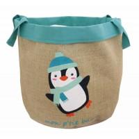 sac a jouets pingouin equitable