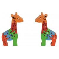 Puzzle Chiffres 1-5 Girafe