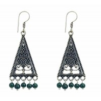 boucles oreilles triangle equitable
