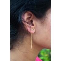 Boucles d'oreilles Noeud