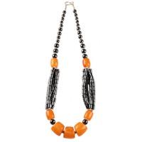 collier-noir-orange