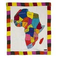 Tenture Carte de l'Afrique