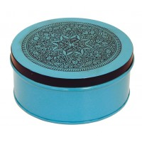 Boîte Mandala bleue