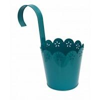 cache pot turquoise