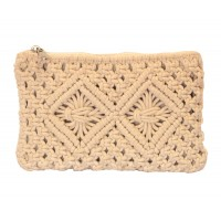 pochette crochet coton equitable