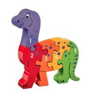 dinosaure multicolore puzzle