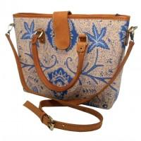 sac batik cuir