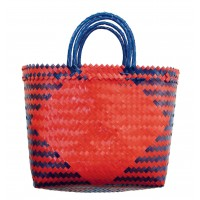 sac plastique recycle equitable rouge