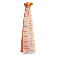 Echarpe Harmonie orange - Inde