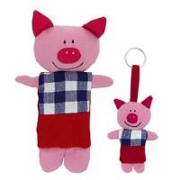 Tirelire et Porte-clé Cochon