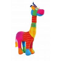 girafe jouet tissu equitable