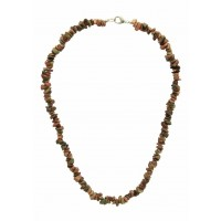 collier jaspe pierre naturelle equitable