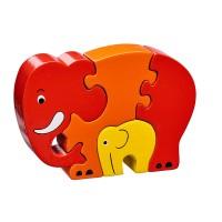 Puzzle Maman Éléphant
