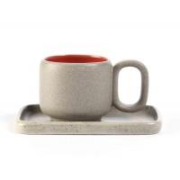tasse cafe equitable rouge grise