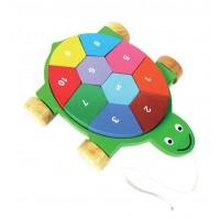 tortue puzzle bois equitable
