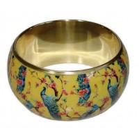 Bracelet commerce équitable jaune