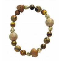 bracelet elastique equitable pierre