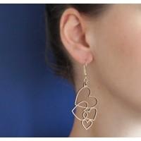 Boucles d'oreilles Cocomour