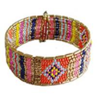 bracelet-manchette-multicolore