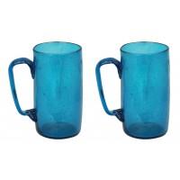 verres bleus recyclés
