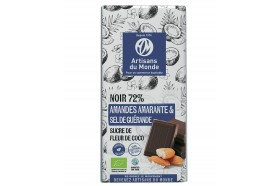 tablette chocolat amarante sel amandes bio equitable