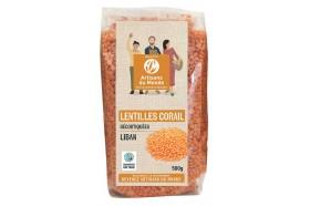 Lentilles corail commerce équitable Liban