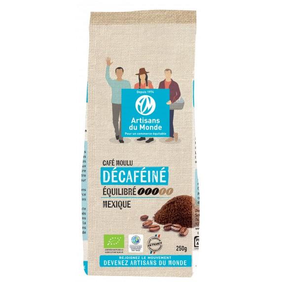 Café biologique décaféiné - 250gr - Mexique