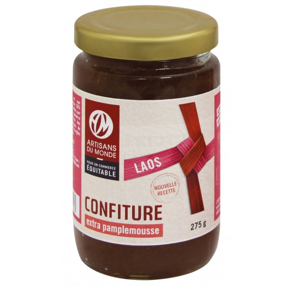 confiture pamplemousse equitable