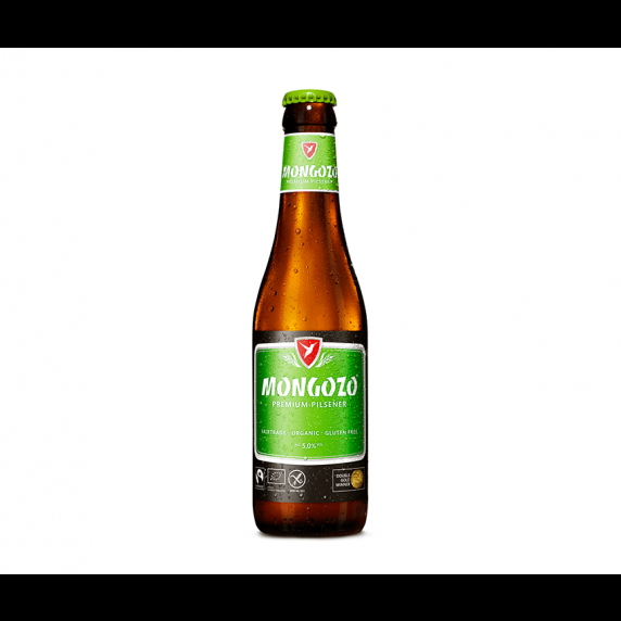 Bière blonde bio Mongozo 33cl