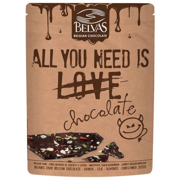 bisures chocolat noir superfruits