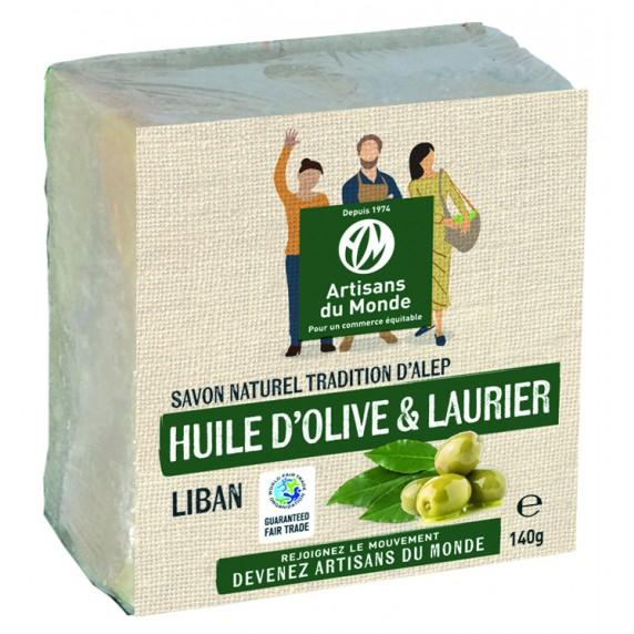 Savon alep huile olive laurier équitable