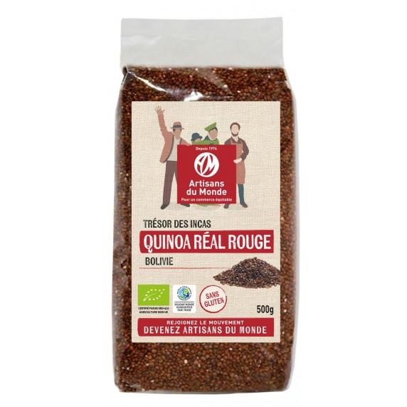Quinoa rouge bio et équitable
