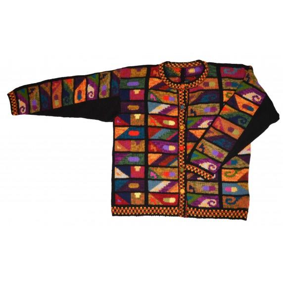 Gilet Titicaca alpaga equitable
