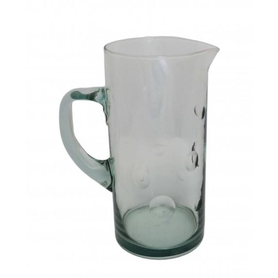 Carafe Puntos équitable verre recyclé