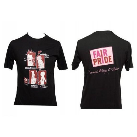 T-Shirt Fairpride homme, L