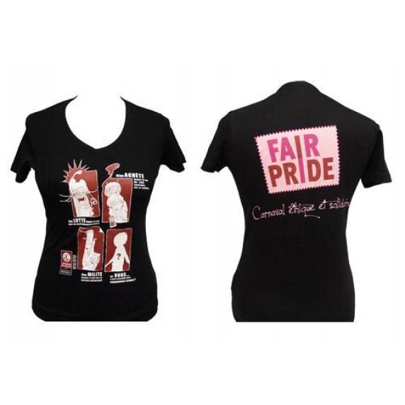 T-Shirt Fairpride femme, L